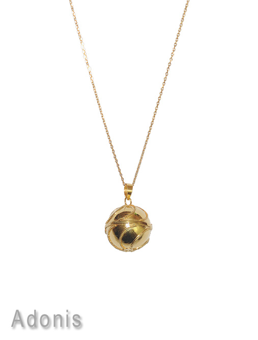 collier bola grossesse or